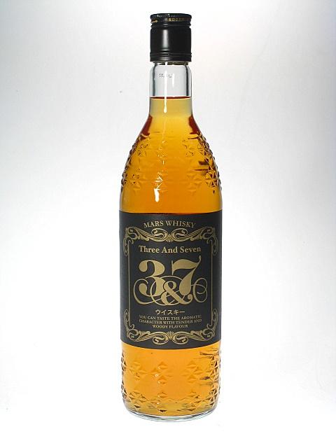 화성의 위스키 3 및 7 39% 720ml ブレンデッドウイスキー 책 방 증 HOMBOW MARS 3 및 7 Blended Whisky 39% 72cl