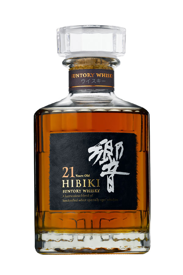 산 토리 향 21 년 43% 절반 크기 350ml 기프트 박스 들 SUNTORY HIBIKI 21years blended whisky 43% Half bottle 35cl