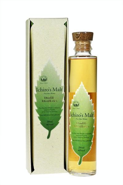 이치 로즈 맥 아 두 디스 티라 스 46% 200ml 선물 패키지 Ichiro 's Malt Double Distilleries 46%. 20cl with gift package