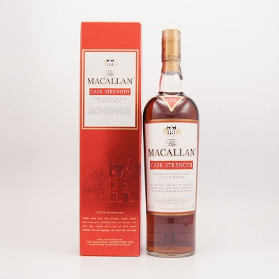 マッカラン カスクストレングス  59% 700ml The Macallan 59% 70cl SHERRY OAK CASKS FROM JEREZ SPAIN