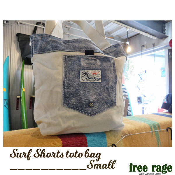 free rage/フリーレイジ/Surf Shorts トートバッグ/キャンパスバッグ/Small