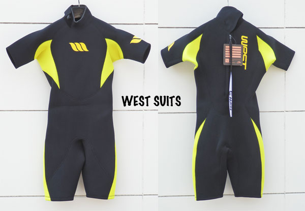 WEST SUITS/ウエストスーツスプリングスーツ/Size M/BLK/0303