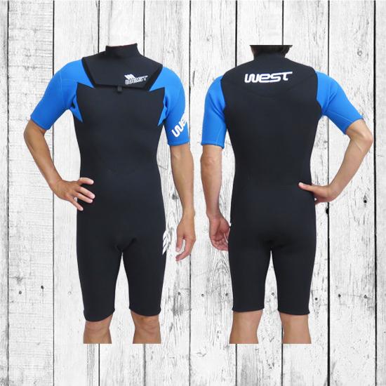 WEST SUITS/ウエストスーツ/NO ZIPスプリングスーツ/Size ML/BLU/06140