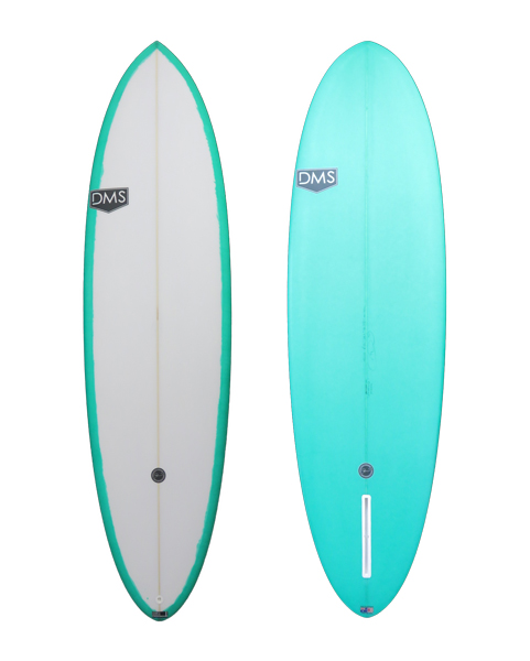 DMSサーフボード/Almondモデル/6'8(203.2cm)ミッドレングス