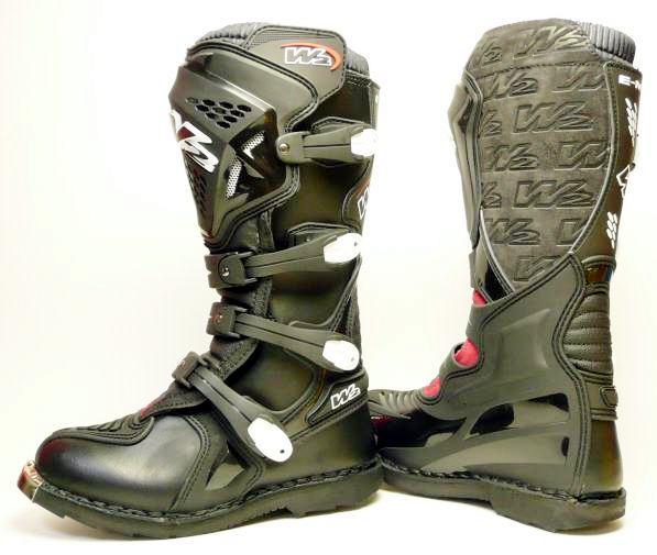 W2ブーツ E-MX7(ブラック)