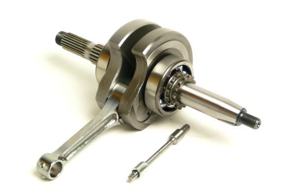 毎週更新 入荷予定 ツーリング115ccキット補修パーツ クリッピングポイント製ツーリング115ccキット補修用54mmストローククランクシャフト適合:ベンリィ90S