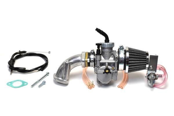 クリッピングポイント製ビッグキャブ24Φ&クリーナーキット(ビッグバルブヘッド用)適合:12Vダックス50