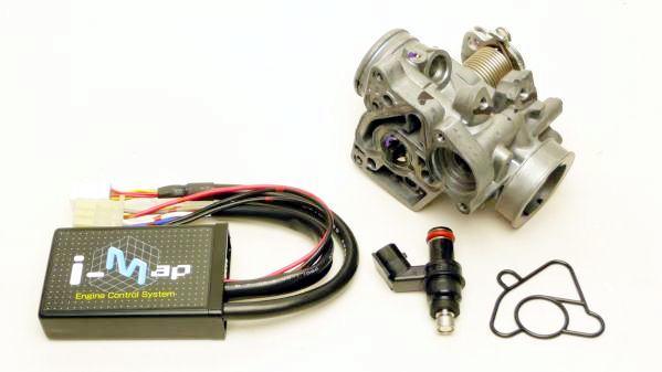 クリッピングポイント製ビッグスロットル22Φキット(ノーマルクリーナー用)適合:FIリトルカブ