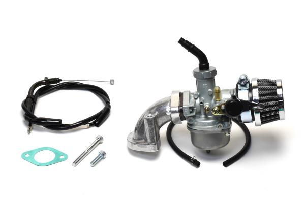 ビッグキャブ20Φ+マニホールド+フィルター クリッピングポイント製ビッグキャブ20Φ スピード対応 全国送料無料 CD90 希少 クリーナーキット適合:12V