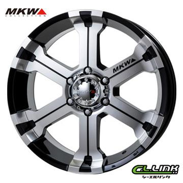 【ポイント5倍 継続中】MKW MK-36 18x8J+20 139.7x6穴 106.2 ダイヤカットグロスブラック