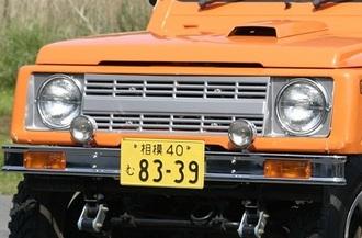 アピオ ブロンコ風フロントグリル ジムニー JA11,JB31 apio
