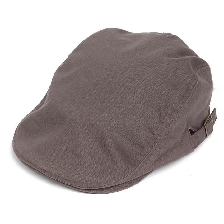 コットン素材の細かいヘリンボーンチェック柄生地がオシャレな感じのハンチング帽 カジュアルながらドレッシーな印象も強いハンチングならカジュアルともスーツとも相性がいい 春の新作シューズ満載 ハンチング帽 メンズ 人気ブランド多数対象 コットン ヘリンボーン ハンチングキャップ グレー フリーサイズ 灰色 58cm 内側はチェック柄 ハンチング帽子 ハンチングの定番 調整可能