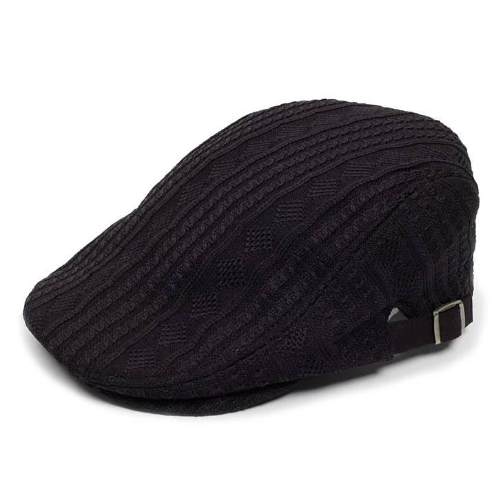温かいイメージのポリ ケーブルニット生地で秋 冬シーズンに最適 都会的なイメージでスマートな感じのシルエット 落ち着いたソリッドのマルチなハンチングキャップ ハンチング帽 送料無料 激安 お買い得 キ゛フト ポリ ケーブル ニット メンズ 帽子 サイズ キャップ シーズン 58cm ハンチング 冬 ブラック色 調整可能 信託 秋