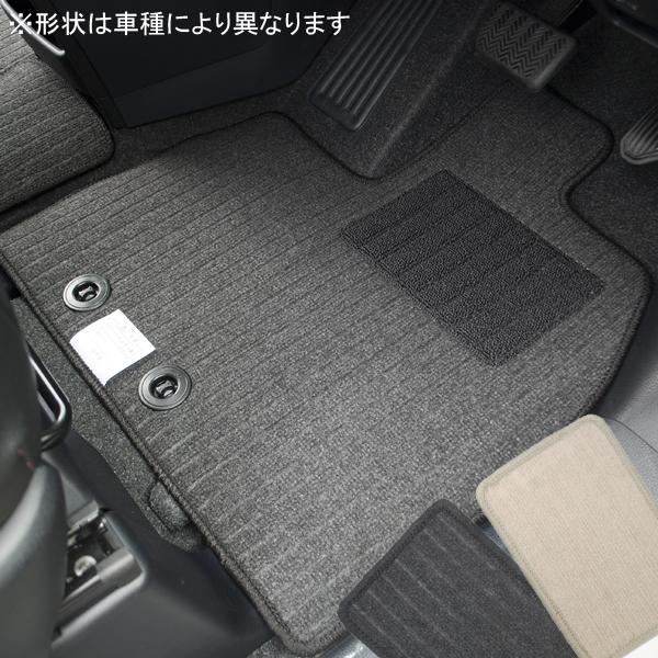 ホンダ ステップワゴン RK1/RK2/RK5/RK6 エコノミーフロアマット 全座席分セット