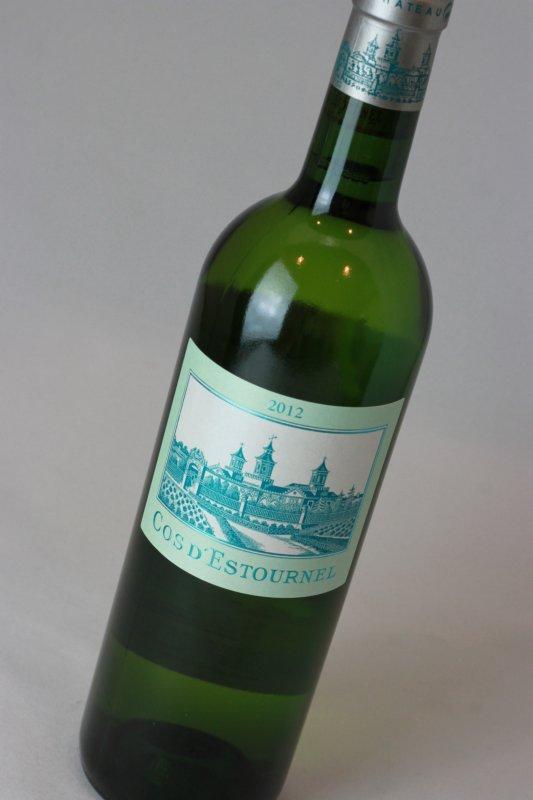 コス・デストゥルネル・ブラン 2012 白ワイン フランス