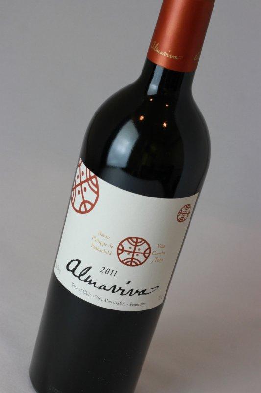 アルマビバ 2011【チリ】【赤ワイン】