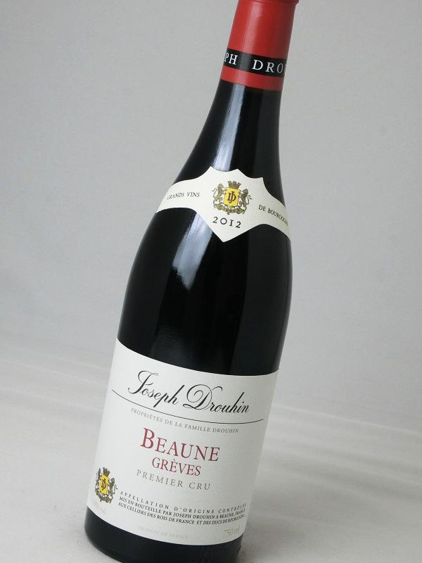 【フランス】【赤ワイン】メゾン・ジョセフ・ドルーアン/ボーヌ・プルミエ・クリュ グレーヴ 2012