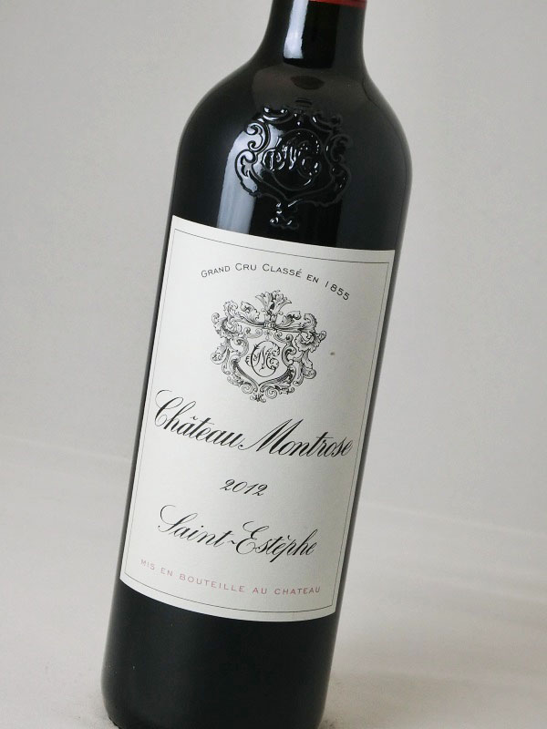 シャト-・モンローズ 2012【フランス】【赤ワイン】