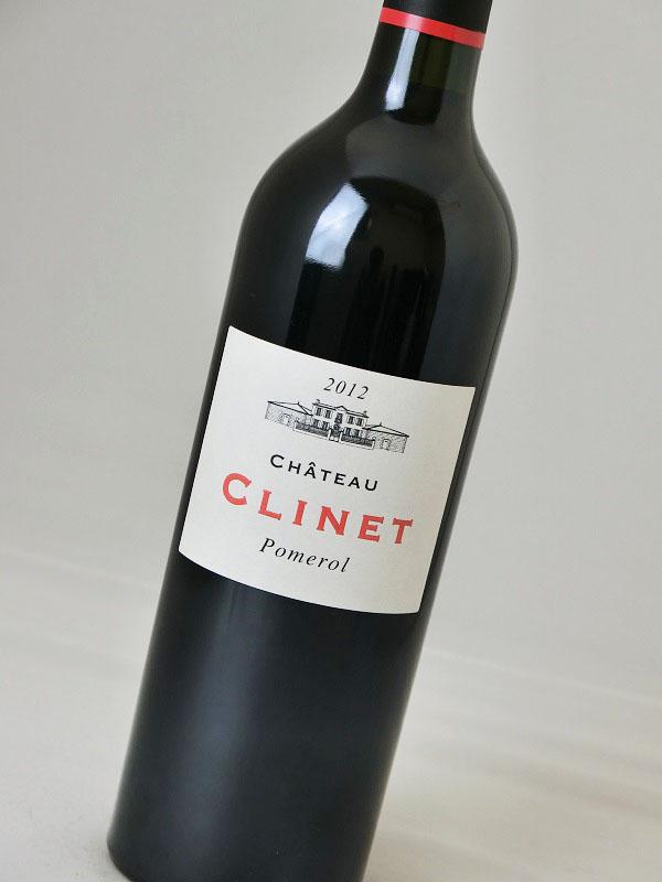 シャトー・クリネ 2012【フランス】【赤ワイン】