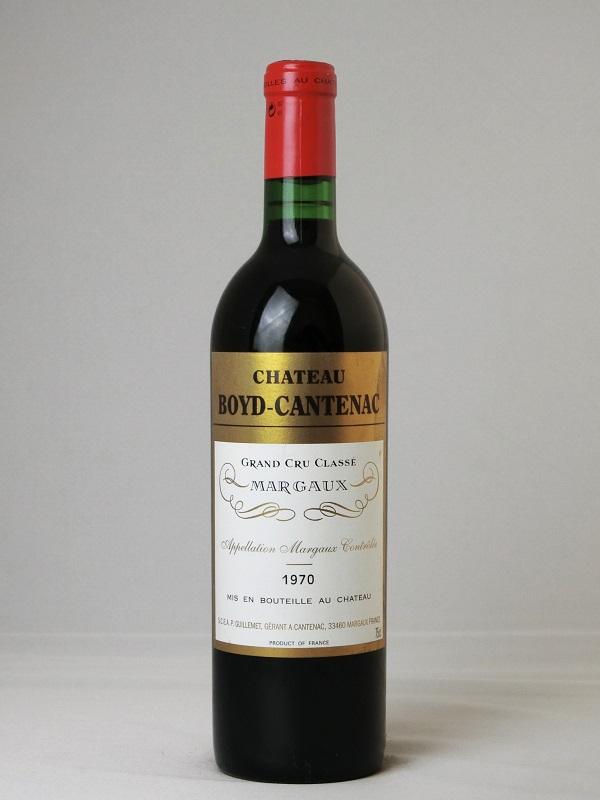 シャトー・ボイド・カントナック 1970【フランス】【赤ワイン】