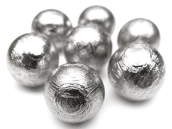 BELLPIERI▼【粒販売】ムオニナルスタ隕石 メテオライト 丸玉 13~14mm【1粒販売】