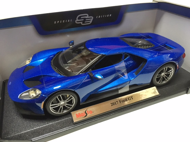 Maisto Maisto   Maisto Maisto   Over  Million Yen Cant Buy A Ford Gt Ford Gt Blue Silver Vehicle Purchase Review And Buy A Car