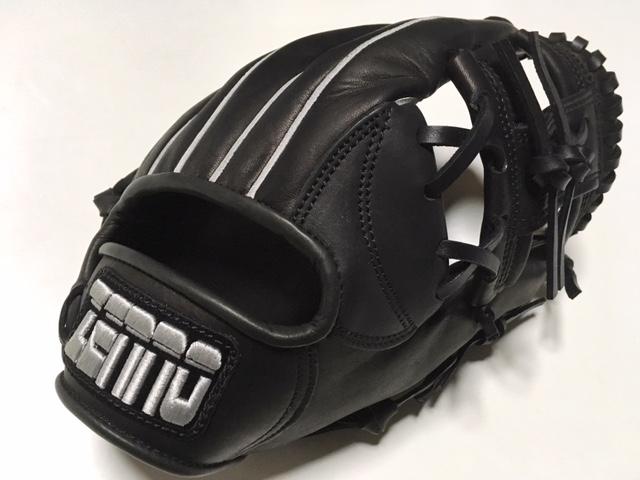 ZENNO  ゼンノー タウラ 野球グローブ 黒 軟式 オールラウンド グローブ 右投げ/野球用品/グローブ