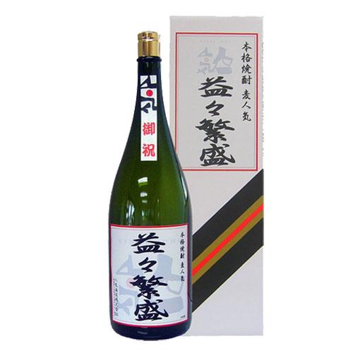 人気一 麦人気 <4500ml> 『益々繁盛』 -福島の地が育てた、こだわりの酒- ____ (各種お祝い・ご贈答におすすめです) ※代引不可 CONCENT コンセント