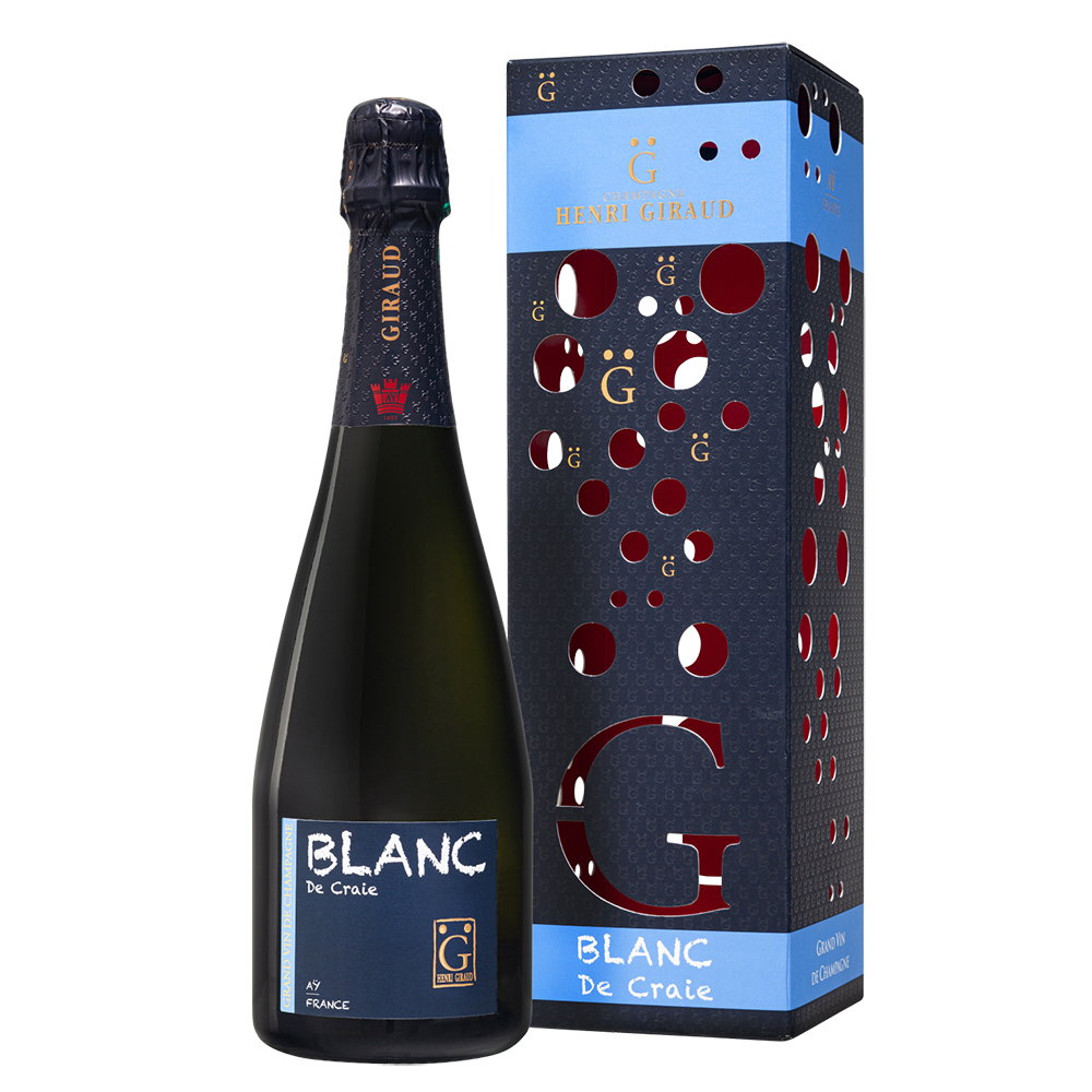 アンリ・ジロー ブラン・ド・クレ HENRI GIRAUD (アンリジロー) (専用ボックス入り) (アンリジロー アンリジロー ギフト アンリジロー プレゼント アンリジロー シャンパーニュ シャンパン スパークリング ワイン)