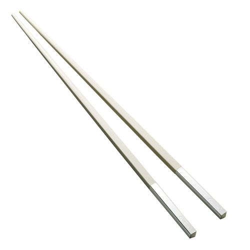 Christofle (クリストフル) Uni Chopsticks(ユニ 箸) ブランシュ(白) (正規輸入品) (お祝い 内祝い) /