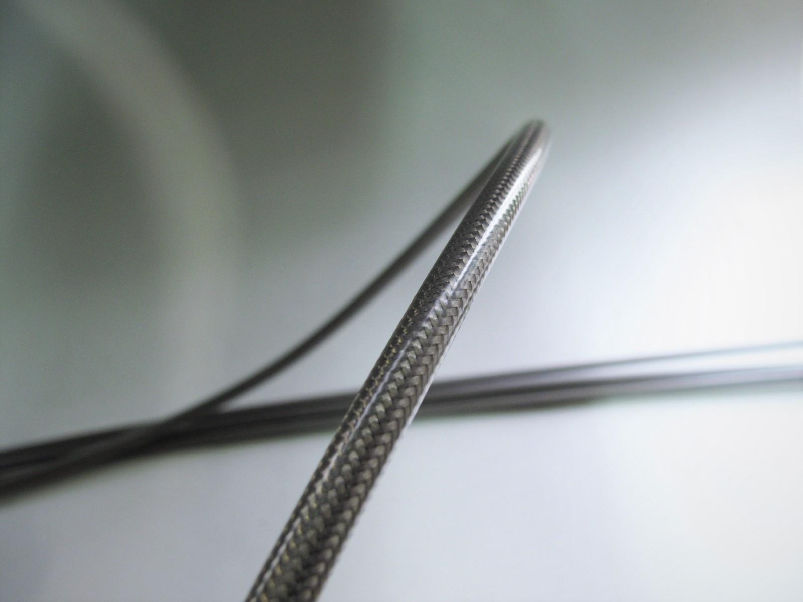혼다 CB1100 TYPE1(SC65E) 전용 액셀 와이어 세트 다크 메쉬(STD~300 mm) NEXTDOOR제