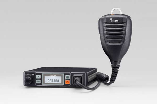 IC-DPR100 (ICDPR100) 免許不要・新型5Wモービル機DPR1の後継機種