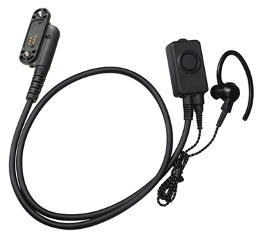 スタンダード EK-505WA (EK505WA) タイピン型マイク&イヤホン 耳かけ式イヤホン付属【ゆ】
