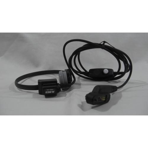 アルインコEME-43A 咽喉マイクイヤホン 防水プラグ EME43A