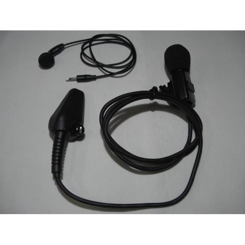 ケンウッド EMC-10 (EMC-10)イヤホン付きクリップマイクロホン