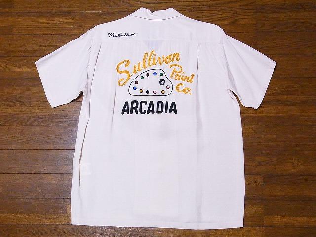 STYLE EYES スタイルアイズ SE38342 ボウリングシャツ 優先配送 ボーリングシャツ 新色追加 2020 PAINT CO. 代引き手数料無料 オフホワイト 送料無料 SULLIVAN