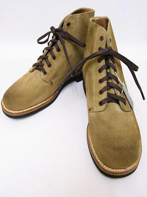 Buzz Rickson's[バズリクソンズ] ブーツ BR02610 サービスシューズ M-43 SERVICE SHOES (SAND) 送料無料 代引き手数料無料