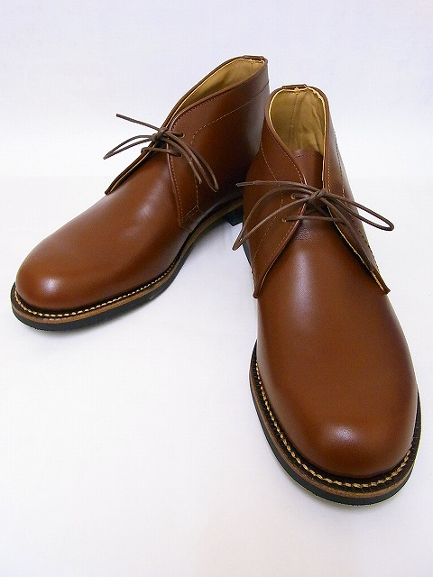 Buzz Rickson's[バズリクソンズ] チャッカブーツ BR02159 CHUKKA BOOTS (R/BROWN) 送料無料 代引き手数料無料