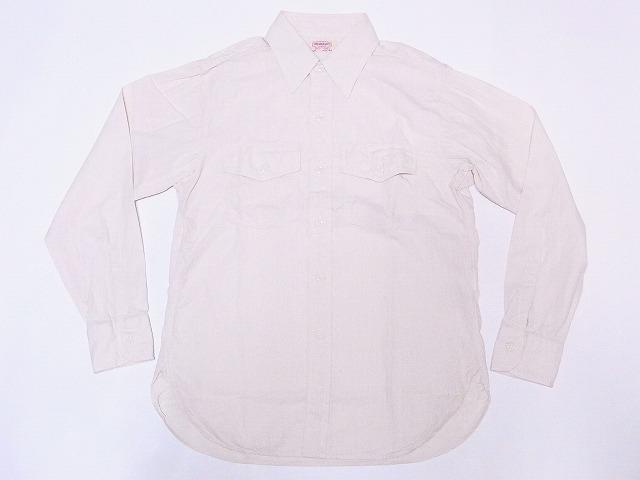 HEADLIGHT ヘッドライト 長袖シャンブレー ワークシャツ HD28286 シャンブレーシャツ 長袖 本日限定 SHIRT 送料無料 オフホワイト シャンブレー 5oz. CHAMBRAY オリジナル WORK