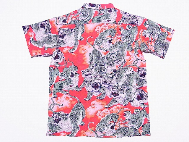 SUN SURF [Sam surf, Hawaiian shirts 100 Tiger Special Edition ONE HUNDRED TIGER Japanese pattern SS36986 (RED) COD fee