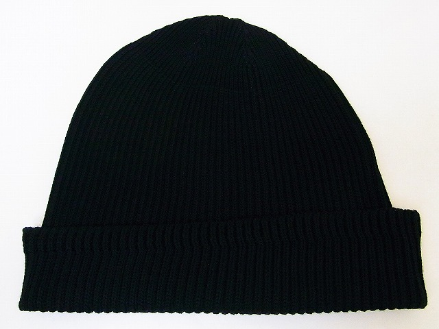 Buzz Rickson 's [バズリクソンズ] 왓 치 캐 프 코 튼 니트 캡 BR02186 WATCH CAP COTTON VERSION (BLACK)