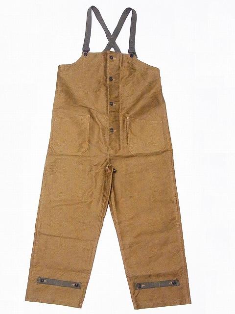 Buzz Rickson's[バズリクソンズ] デッキパンツ ジャングルクロス BR41760 JUNGLE CLOTH DECK PANTS CIVILIAN MODEL (カーキ/ONE-WASH) 送料無料 代引き手数料無料