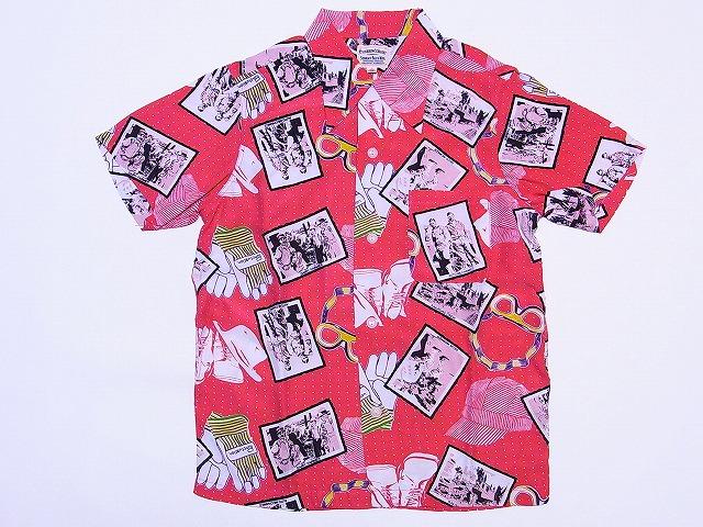 Pherrow's[フェローズ] アロハシャツ KIKO ハワイアンシャツ 14S-KIKO (レッド) 送料無料 代引き手数料無料