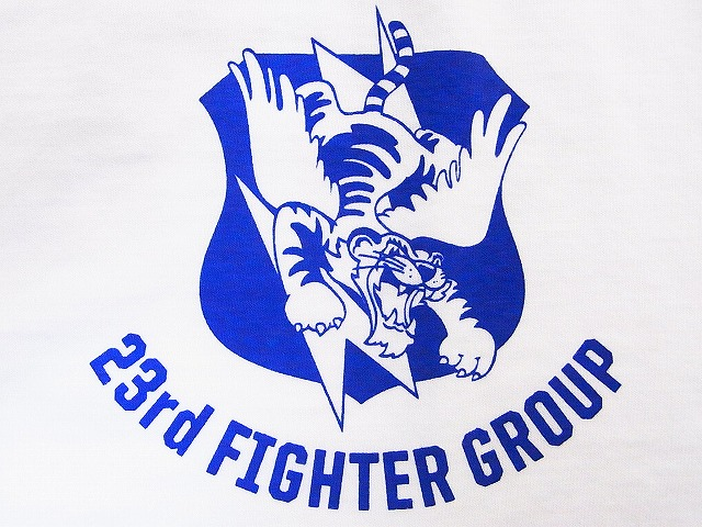 Buzz Rickson's (WHITE), Flying Tigers, 23rd FIGHTER GROUP BR76956, [due] T shirt