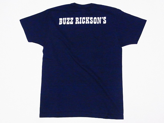 Buzz Rickson's[바즈리크손즈]×PEANUTS[땅콩] T셔츠 스누피 SNOOPY BR77545 MED. CRUISE CVA-67 (네이비)