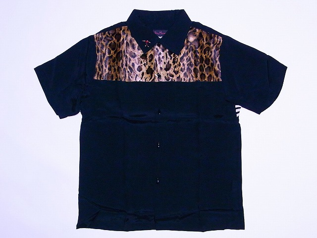 Dry Bones[ドライボーンズ] ボウリングシャツ Cat's Meow DS-1870 (ブラック) 送料無料【smtb-kd】