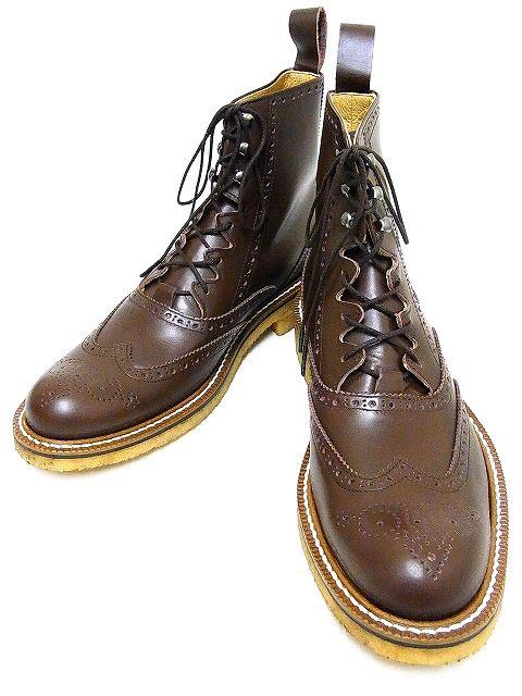 [宅送] Dry 送料無料 Bones[ドライボーンズ] ブーツ Gillie Half Boots Gillie ギリーブーツ DSHC-008 (BROWN) DSHC-008 送料無料 き手数料無料【RCP】, hono(照明インテリア雑貨):f977bb13 --- rishitms.com