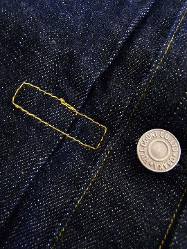 FULLCOUNT denim jackets 1 st TYPE 2107 FLAP POCKET (ONE WASH) cash on delivery fees