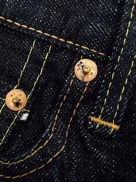 完整的 FULLCOUNT 计数牛仔裤 1110 XX 圆锥中间直重盎司 15.5 盎司 (靛蓝 /ONE-WASH) 现金交货费