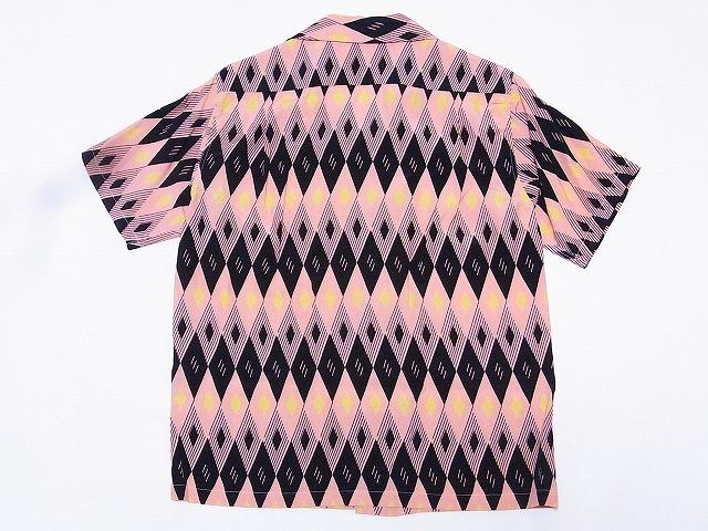 STAR OF HOLLYWOOD [스타 오브 헐리우드] 오픈 셔츠 DIAMOND SH37282 반 소매 (PINK) 대금 상환 수수료 무료